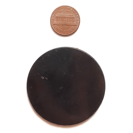 50mm Round Laptop Plate