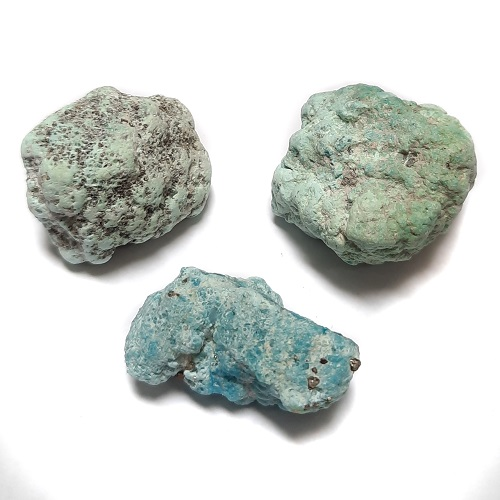 Stabilized Campitos Turquoise large-sized Rough #30