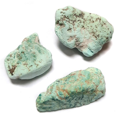 Stabilized Campitos Turquoise large-sized Rough #33