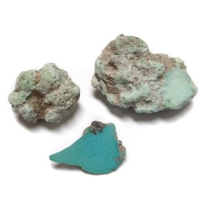 Stabilized Campitos Turquoise large-sized Rough #34