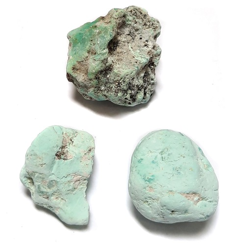 Stabilized Campitos Turquoise large-sized Rough #36