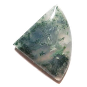 Cab1300 - Green Moss Agate cabochon