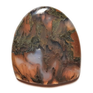 Cab1320 - Green Moss Agate cabochon