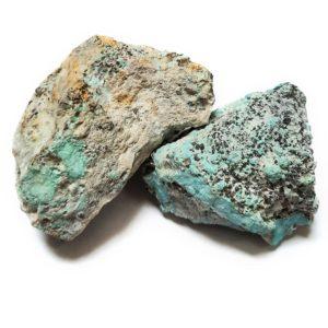 Natural Sonoran Blue Turquoise Rough - Fine Medium Blue - $500/lb (~$1.10/gram)
