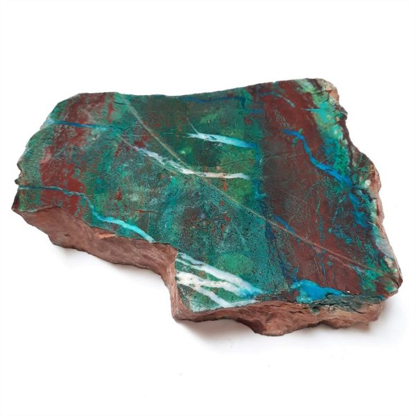 Parrot Wing Chrysocolla Rough #1