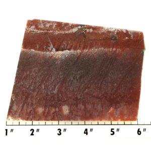 Slab762 - Red Flame Agate Slab
