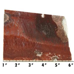 Slab770 - Red Flame Agate Slab