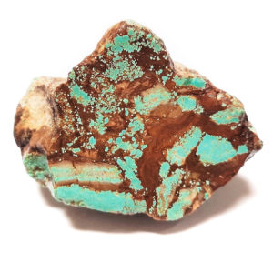 Number 8 Mine Stabilized Turquoise Rough #11