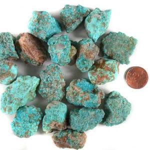 Cumpas Stabilized Turquoise - Medium Nuggets - $.30/gram (~$136.08/lb)