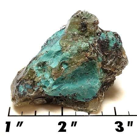 Stabilized Chinese Spiderweb Turquoise Rough 19