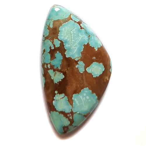Cab1932 - Number 8 Mine Stabilized Turquoise Cabochon