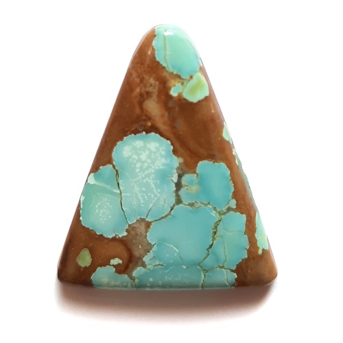 Cab1935 - Number 8 Mine Stabilized Turquoise Cabochon