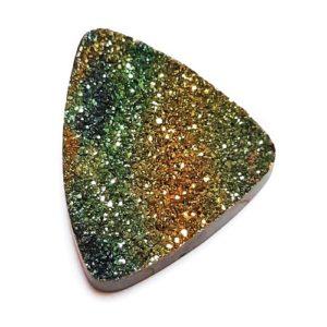 Cab2191 - Rainbow Pyrite Cabochon