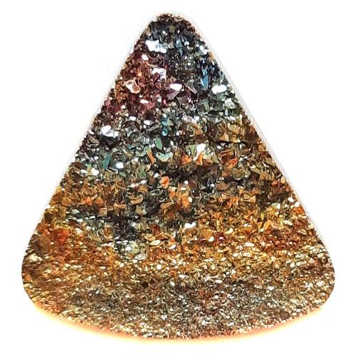 Cab2199 - Rainbow Pyrite Cabochon