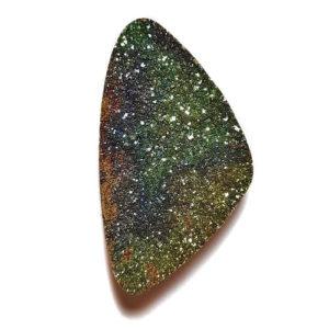Cab2214 - Rainbow Pyrite Cabochon