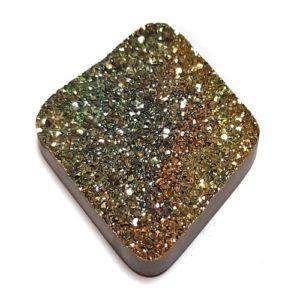 Cab2219 - Rainbow Pyrite Cabochon