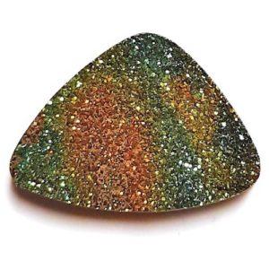 Cab2227C - Rainbow Pyrite Cabochon