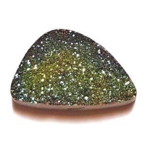 Cab2244 - Rainbow Pyrite Cabochon