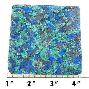 Slab988 - Azurite and Malachite Pressed Block Slab