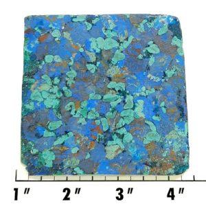 Slab989 - Azurite and Malachite Pressed Block Slab