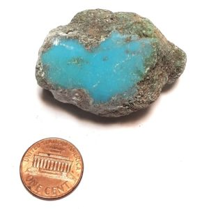 Chinese Stabilized Turquoise Rough #36