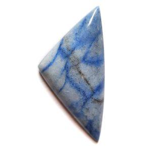 Cab3244 - Blue Quartz Cabochon