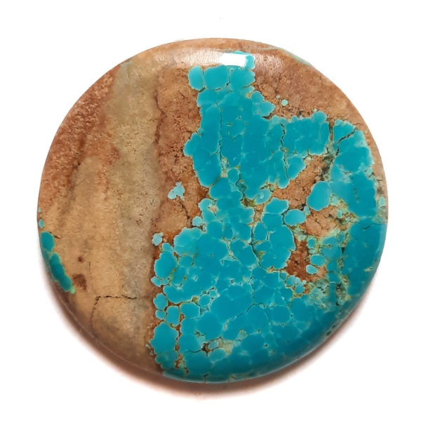 Cab2165 - Number 8 Mine Stabilized Turquoise