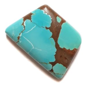Cab2155 - Number 8 Mine Stabilized Turquoise