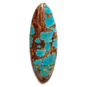 Cab2157 - Number 8 Mine Stabilized Turquoise Cabochon