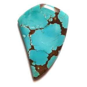 Cab2160 - Number 8 Mine Stabilized Turquoise