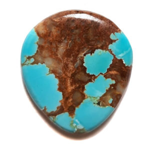 Cab2163 - Number 8 Mine Stabilized Turquoise