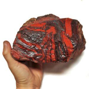 Red Jasper with Hematite Rough #5