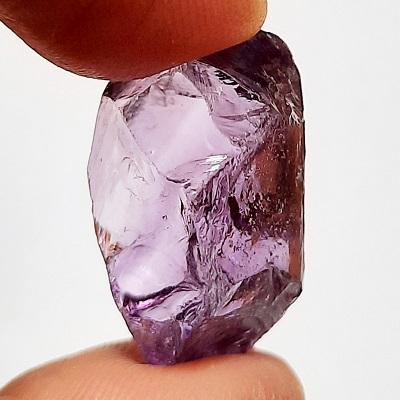 Medium-Light colored Amethyst #38