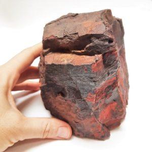 Red Jasper with Hematite Rough #4