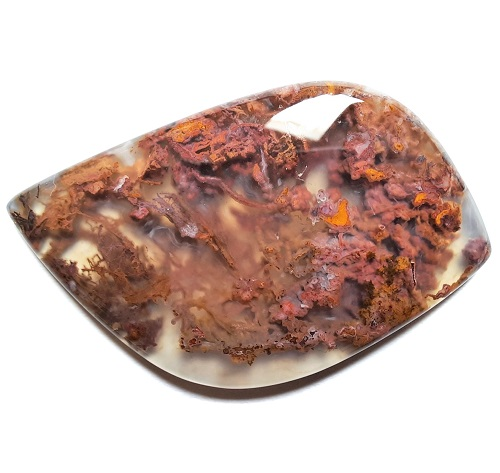 Cab2921 - Horse Canyon Moss Agate Cabochon