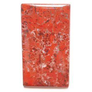 Cab2926 - Red Jasper (Stromatolite) Cabochon