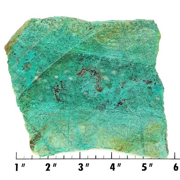Slab1759 - Malachite in Quartz Slab
