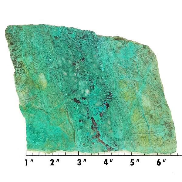 Slab1763 - Malachite in Quartz Slab