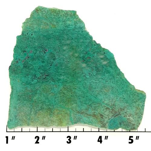 Slab2185 - Malachite in Quartz Slab