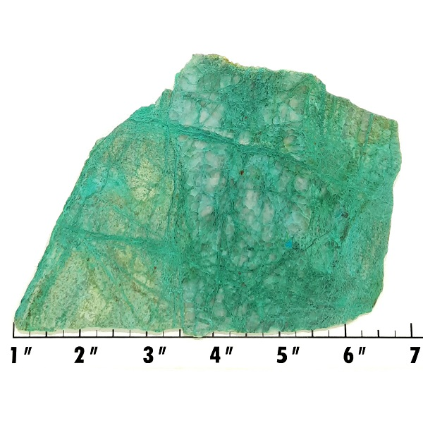 Slab1785 - Malachite in Quartz Slab