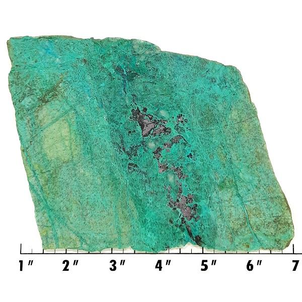Slab1676 - Malachite in Quartz Slab