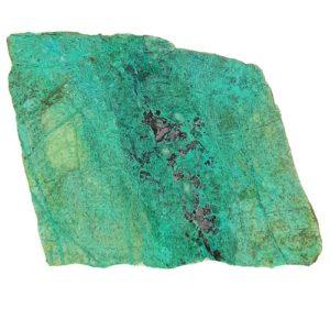 Malachite in Quartz Slabs from Arizona