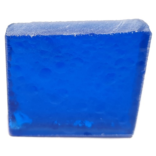 Deep Blue Synthetic Quartz