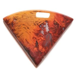 Cab1091 - Rooster Tail Agate Cabochon