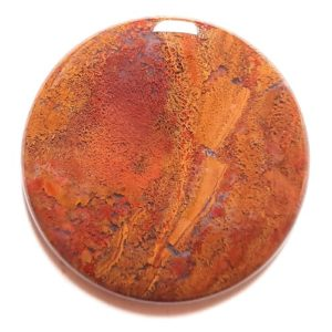 Cab1124 - Rooster Tail Agate Cabochon