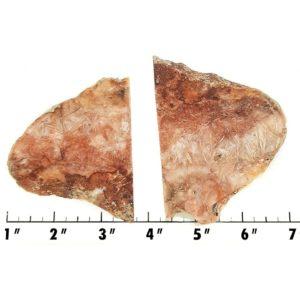 Slab1383 - Sagenite Agate Slabs