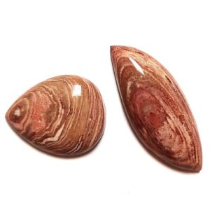 Cab1739 - Ribbon (Swirl) Rhyolite Cabochon Parcel
