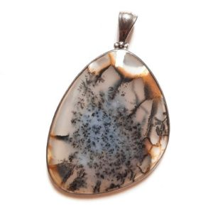 Dendritic Agate in Sterling Silver #322SK
