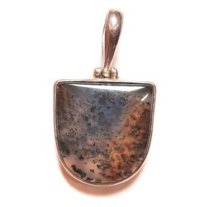Dendritic Agate in Sterling Silver #377SK