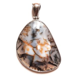 Dendritic Agate in Sterling Silver #396SK